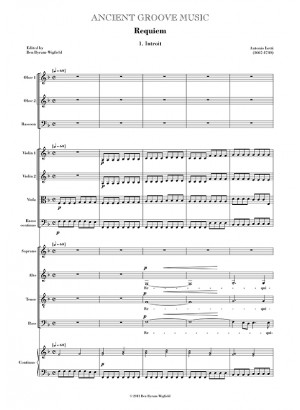 Lotti: Requiem FULL SCORE