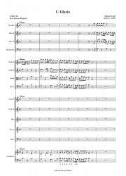 Lotti: Gloria in C FULL SCORE