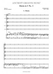 Lotti: Gloria in C VOCAL SCORE