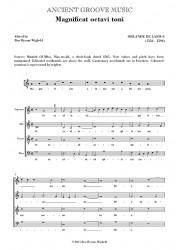 Lassus: Magnificat & Nunc dimittis octavi toni