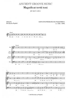 Palestrina: Magnificat & Nunc dimittis for men's voices