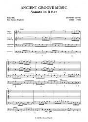 Lotti: Sonata in B flat