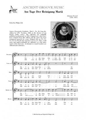 Eccard: Am Tage der Reinigung Maria