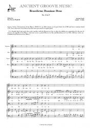 Lotti: Benedictus Dominus Deus No 2 in F