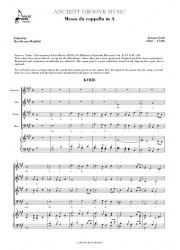 Lotti: Messa da cappella in A