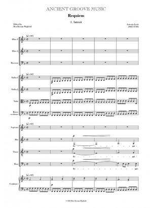 Lotti: Requiem FULL SCORE