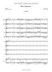 Lotti: Missa Sapientiae FULL SCORE