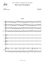 Lotti: Missa Sancti Christophori FULL SCORE