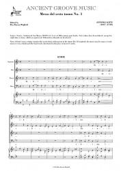 Lotti: Messa del sesto tuono No. 1