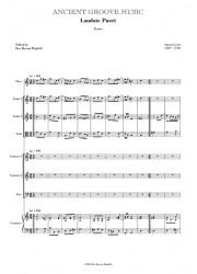 Lotti: Laudate pueri 3vv No.1 (SSB) SCORE