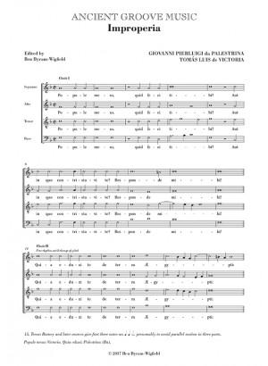 Palestrina/Victoria: Improperia (Popule meus)