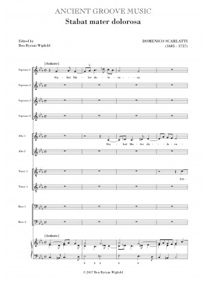 Scarlatti, D: Stabat mater dolorosa