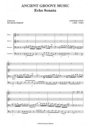 Lotti: Echo Sonata SCORE